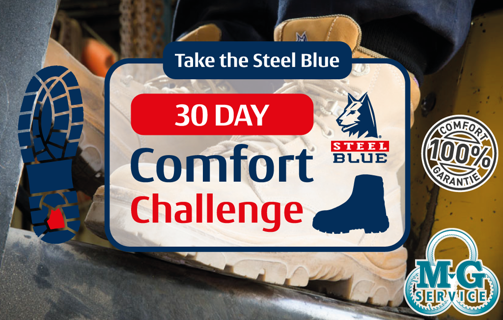 Steel Blue 30 day challenge