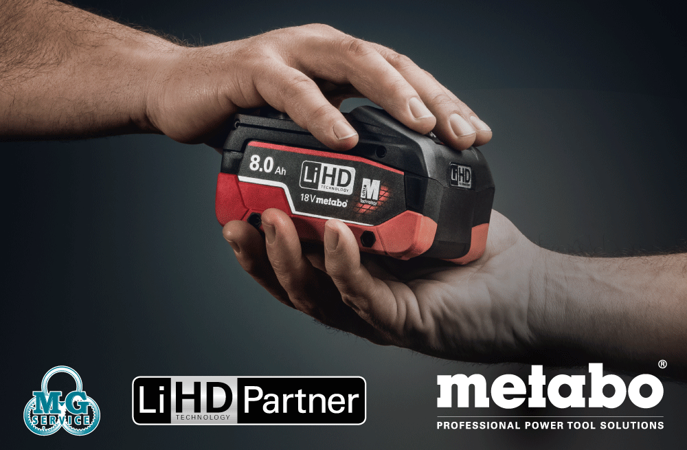 MG Service = Metabo LiHD Partner